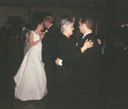 Parents dancing with couple