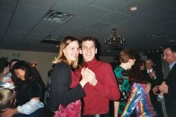 Jeff and Paula dancing