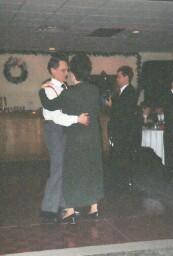 Uncle Joe and Aunt Liz dancing
